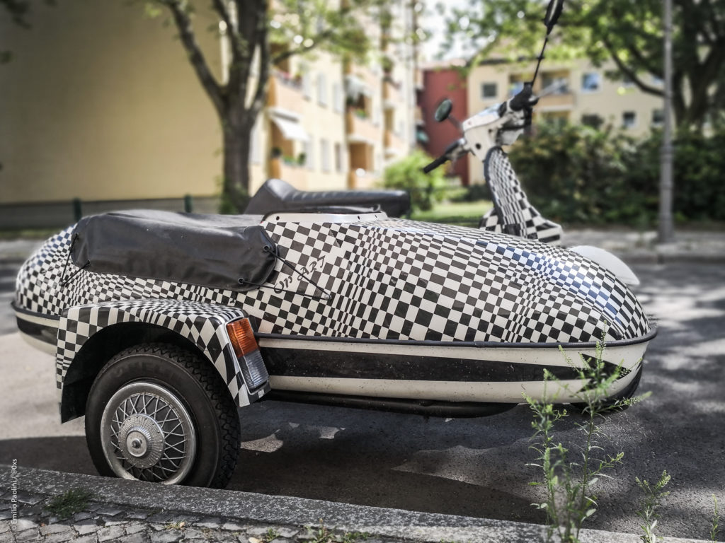 checkerboard scooter